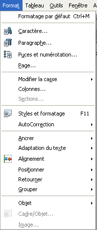 OpenOffice 3.3 French menu format.png
