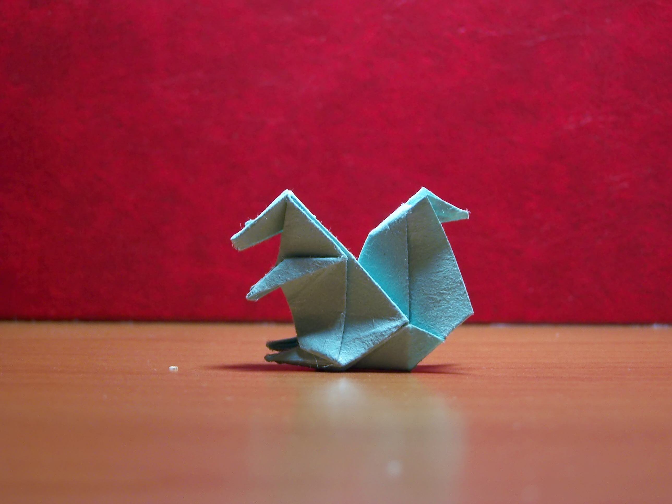 Easy Origami Animals - page 4 of 6 (Squirrel - 2 of 2) | Origami facile,  Animaux en origami faciles, Origami animaux | 1932x2576