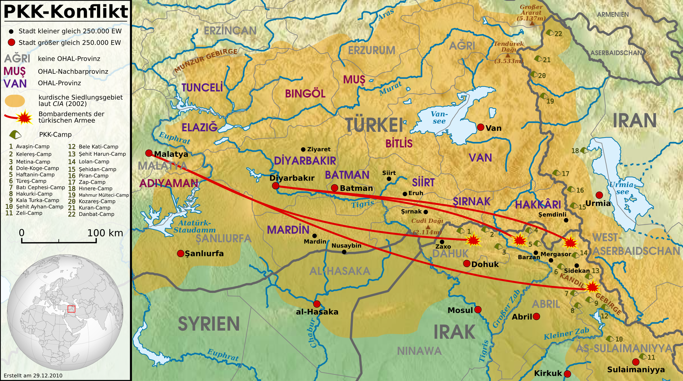 Kurdish–Turkish conflict (1978–present) - Wikipedia