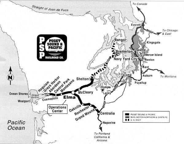 PSAP Operations Map