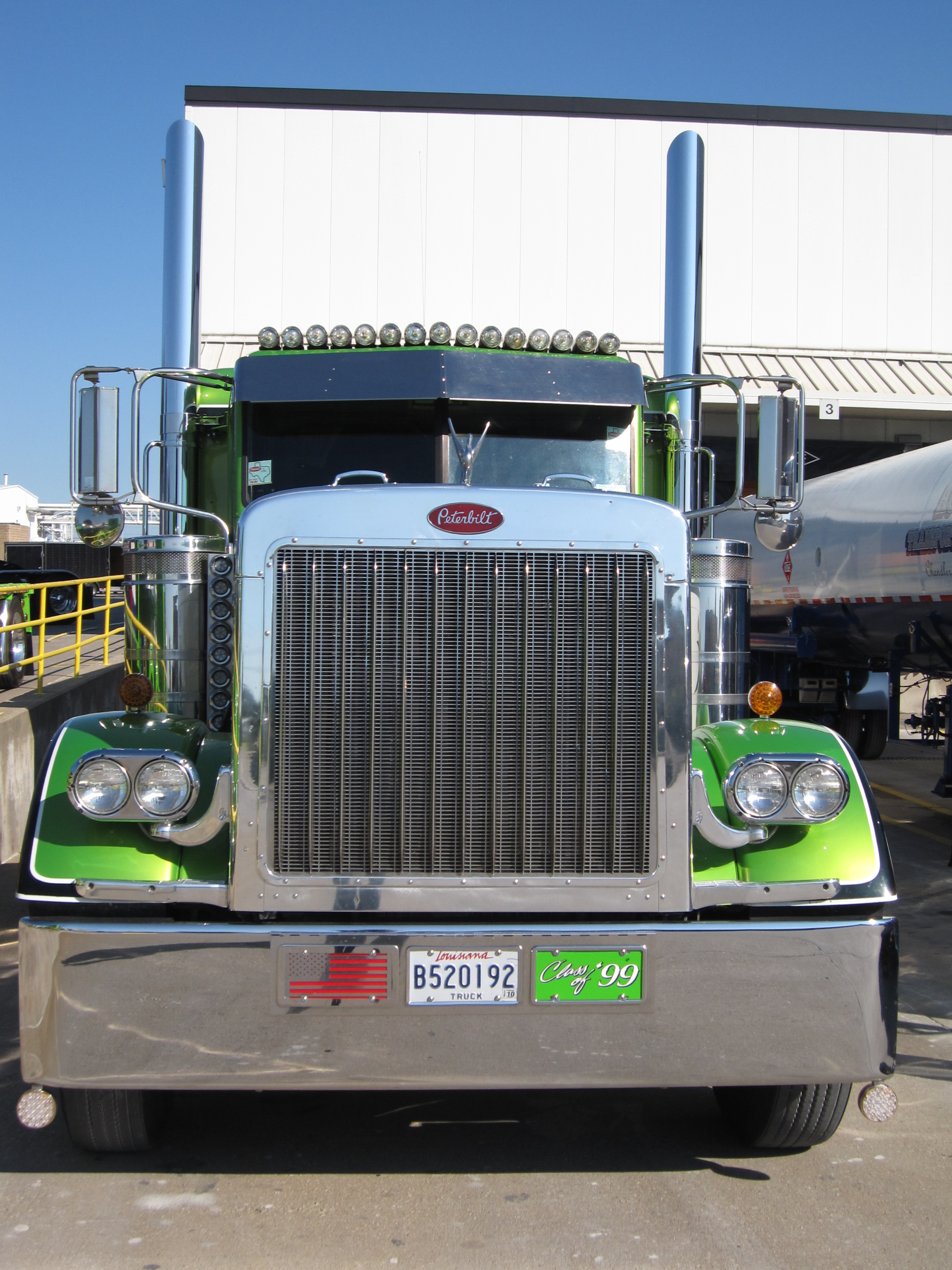Semi Trucks For Sale: Peterbilt Cabover Semi Trucks For Sale
