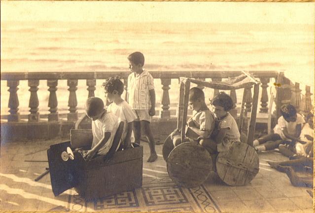 בגן הילדים בבת גלים