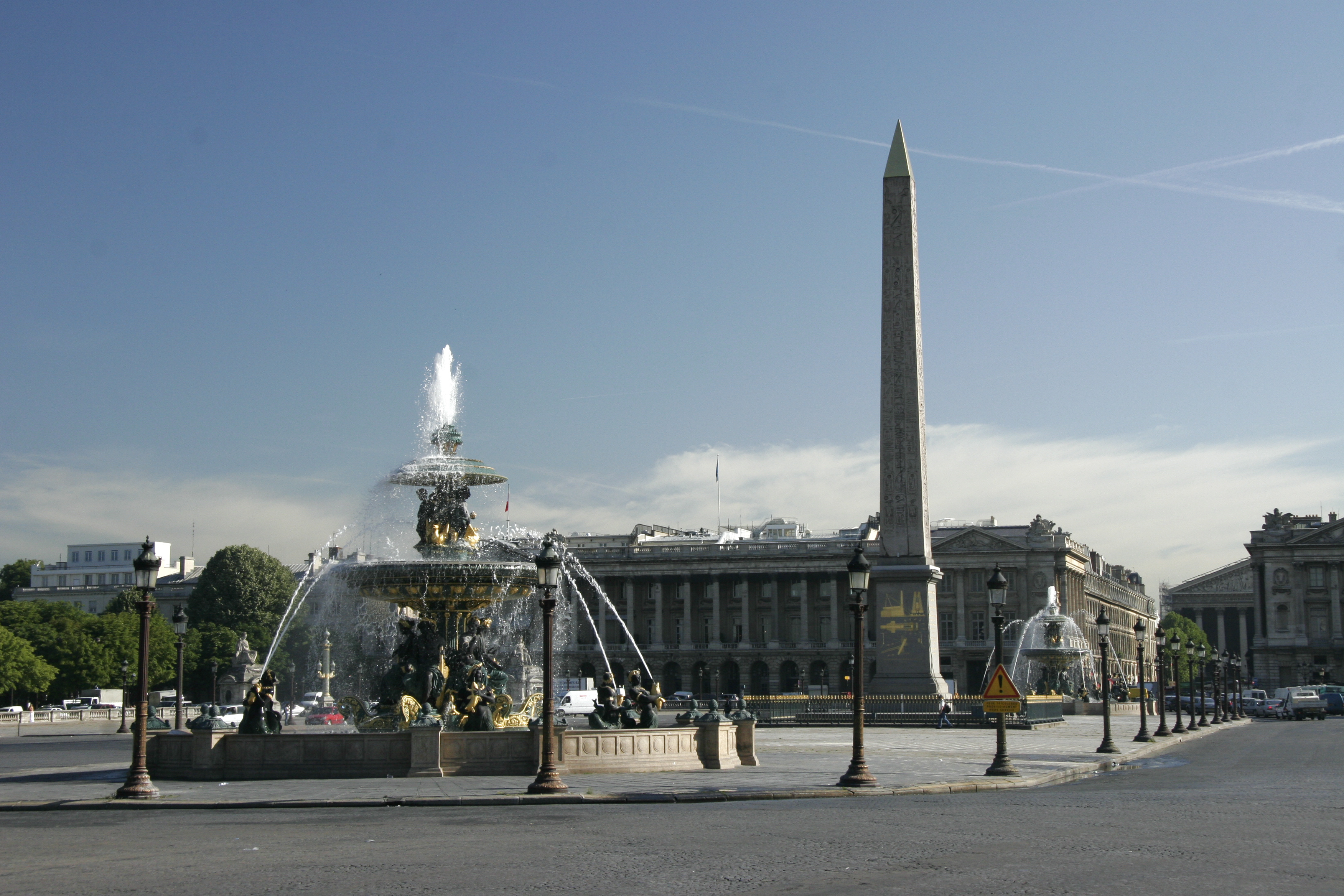 la place de la concorde paris. Black Bedroom Furniture Sets. Home Design Ideas