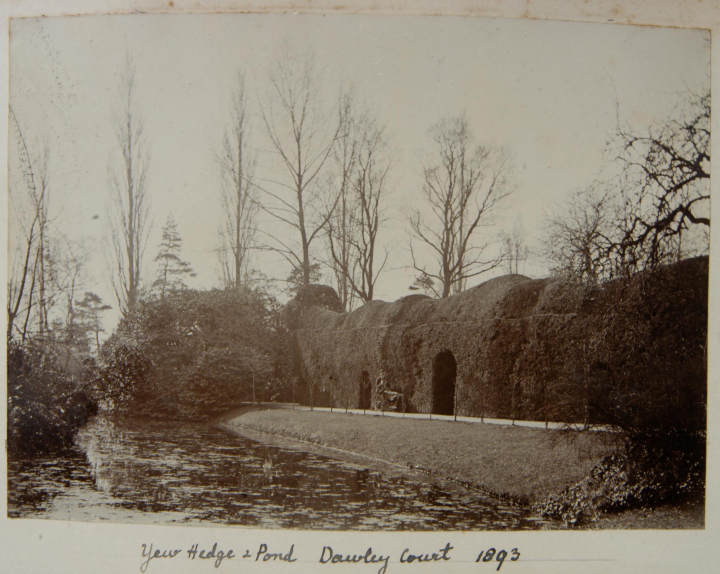 File Pond Hedge At Dawley Court Goulds Green Hillingdon
