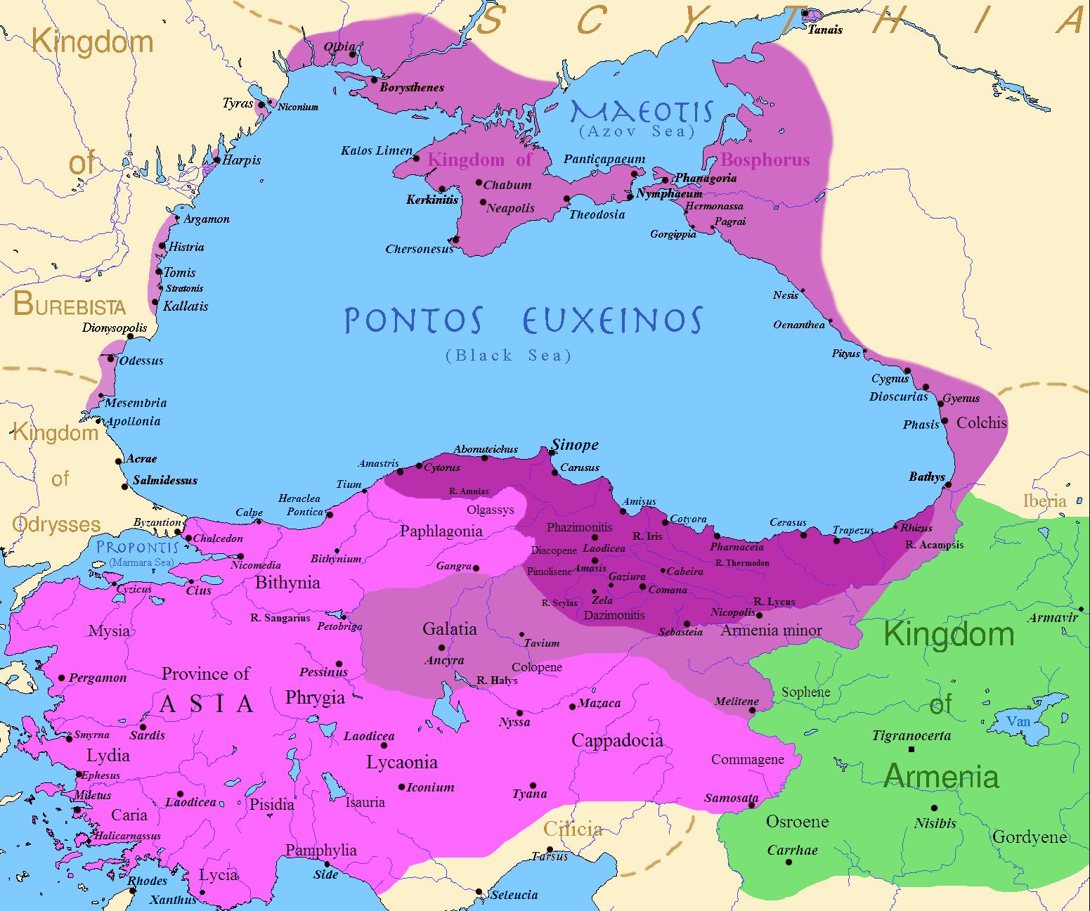 Maximální rozsah říše