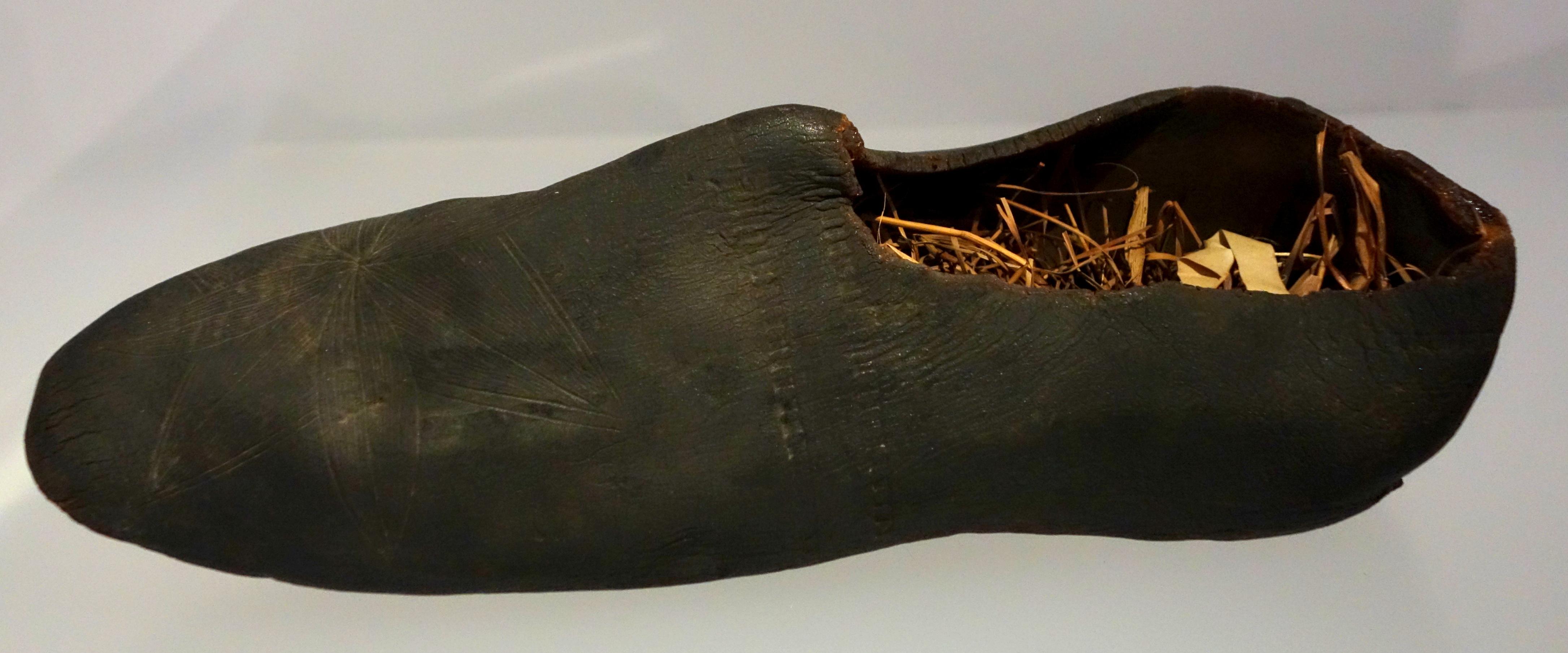 File Pre Vulcanized Rubber Overshoes 1830s Brazil Bata