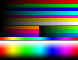 File:RGB 15bits palette color test chart.png