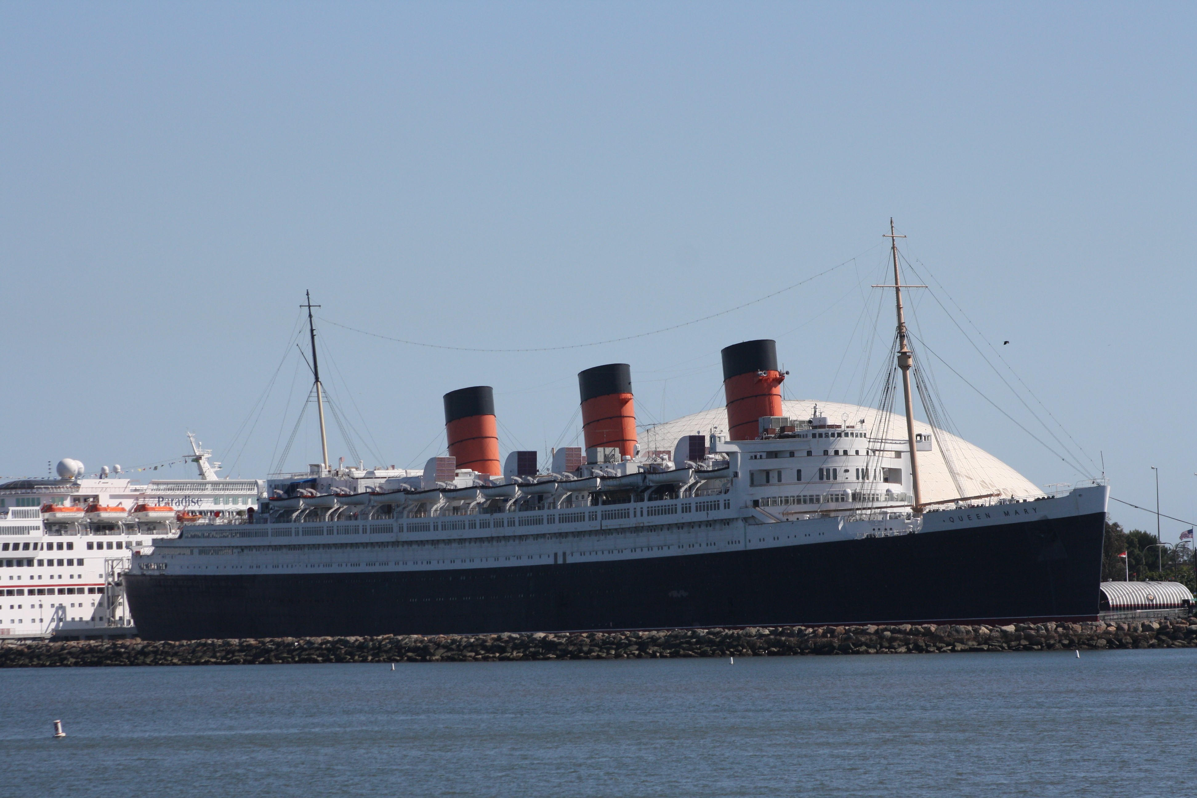Pictures Of The Queen Mary In Long Beach