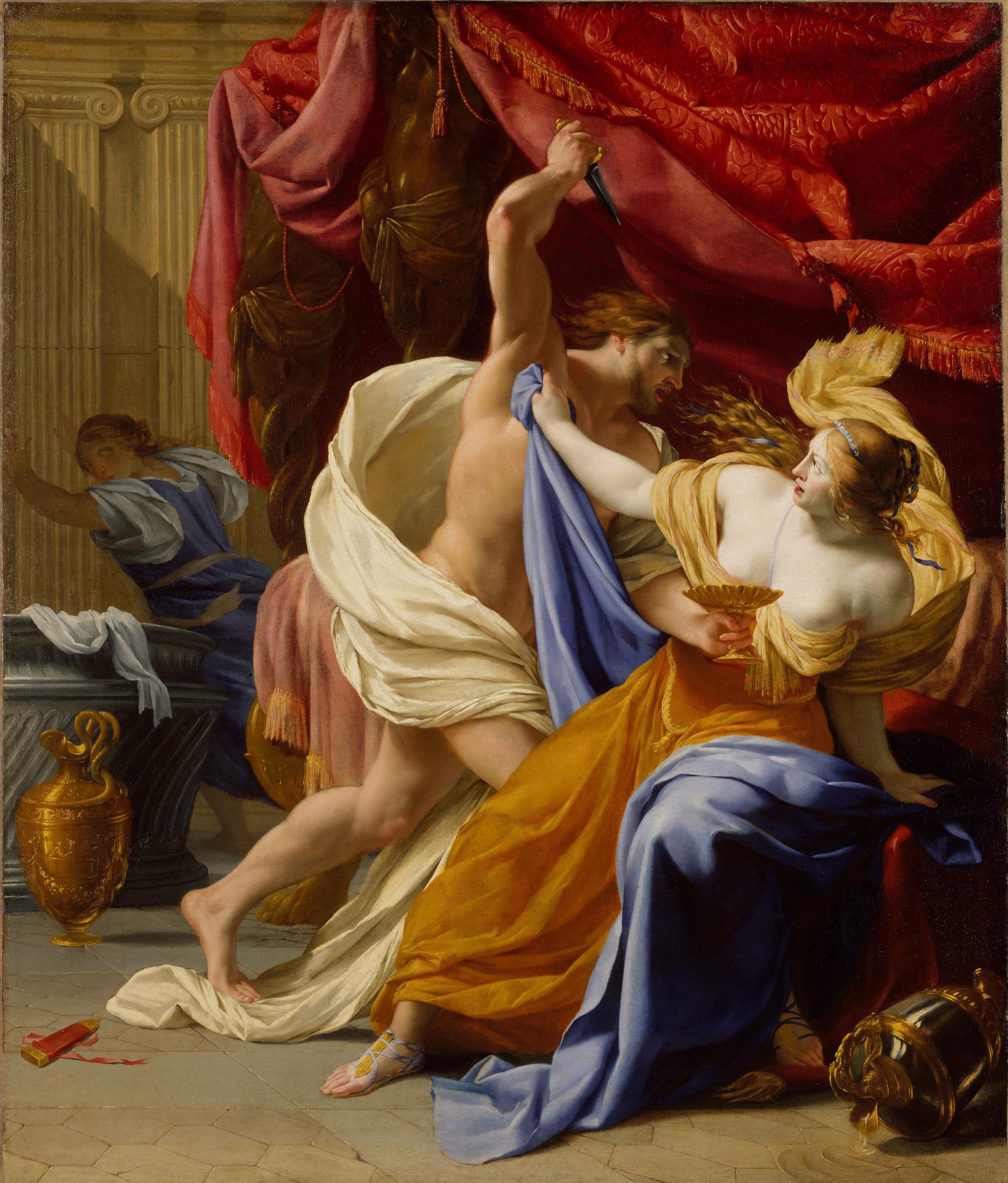 Description Rape of Tamar - Le Seur trim.jpg