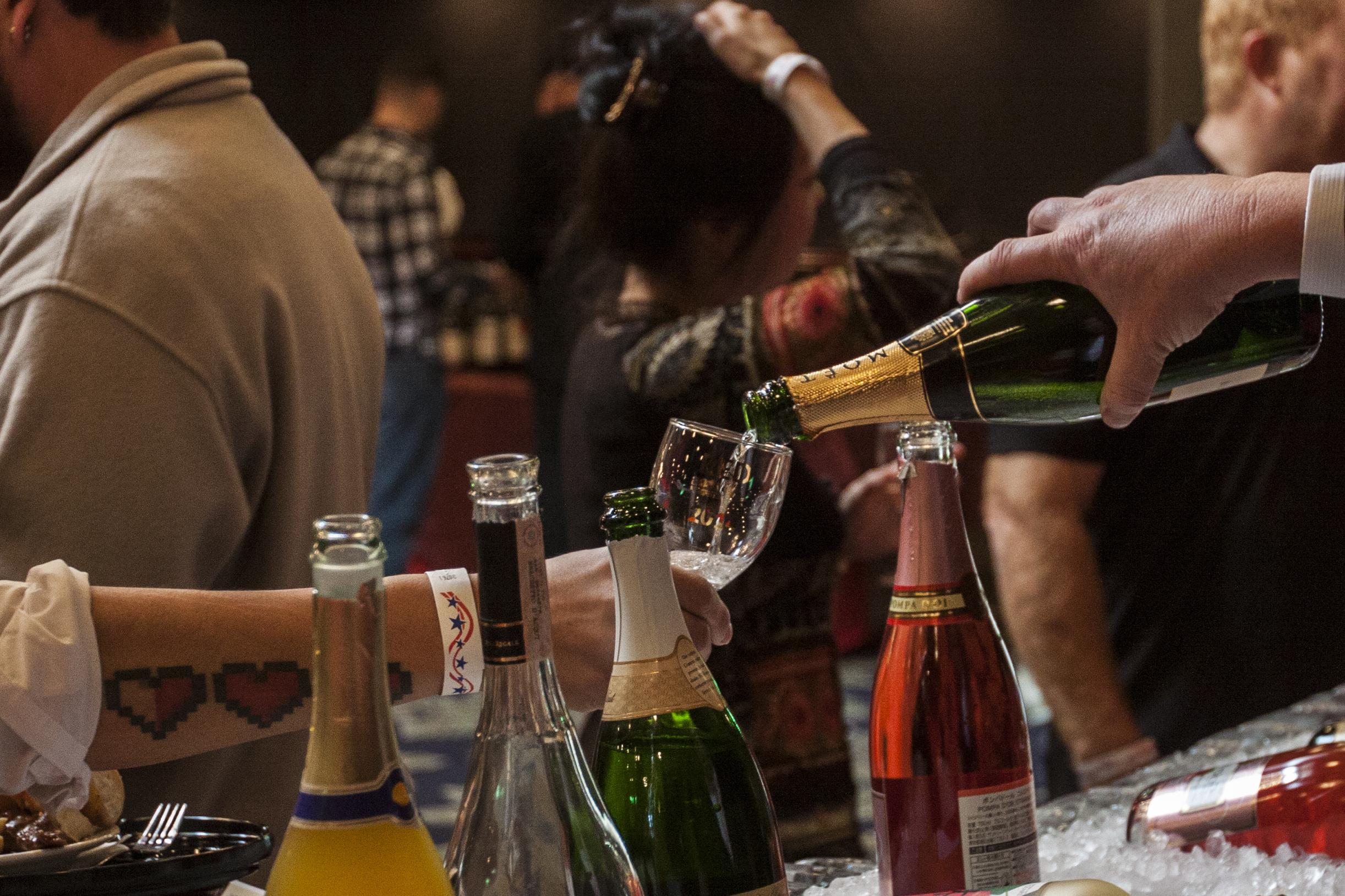 file red  white  u0026 food wine festival provides sweet  sour social scene for station residents