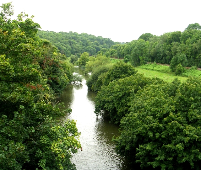 River Avon from Avoncliff Aqueduct - geograph.org.uk - 944106