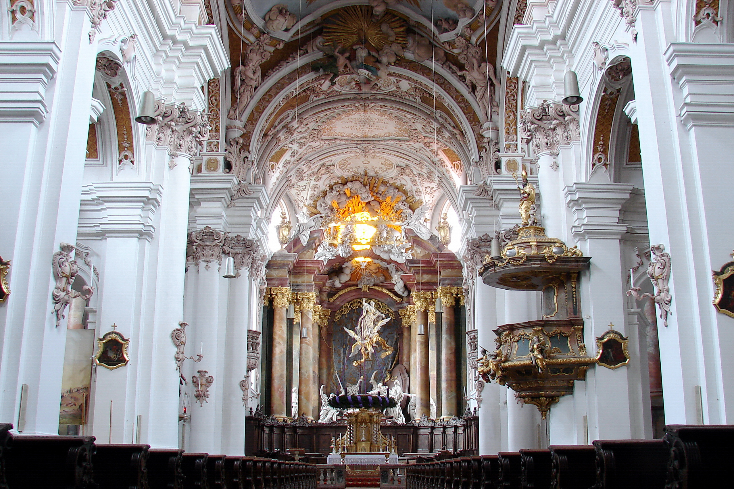 datei rohr in nb klosterkirche innenraum wikipedia. Black Bedroom Furniture Sets. Home Design Ideas