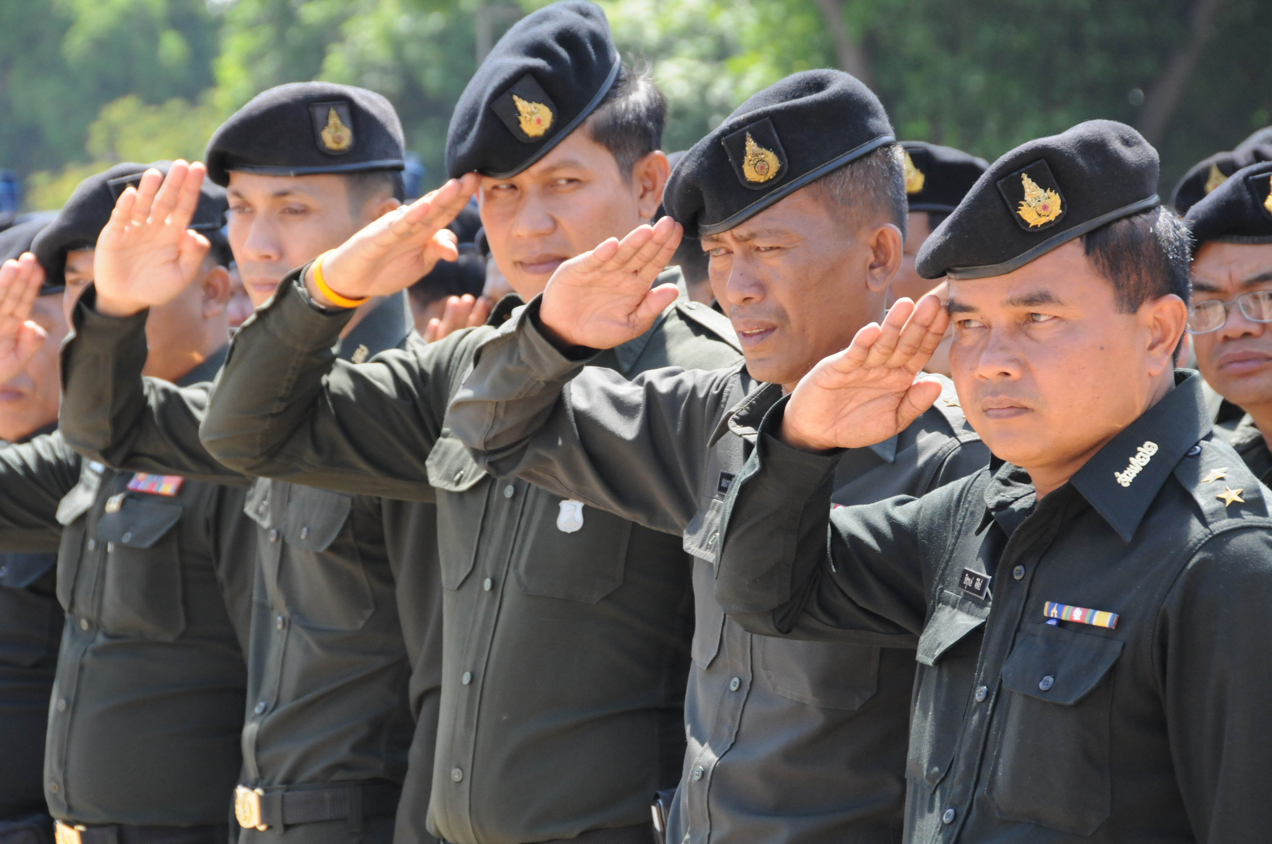 [Image: Royal_Thai_Army_soldiers_salute_080508-A-3376P-005.jpg]