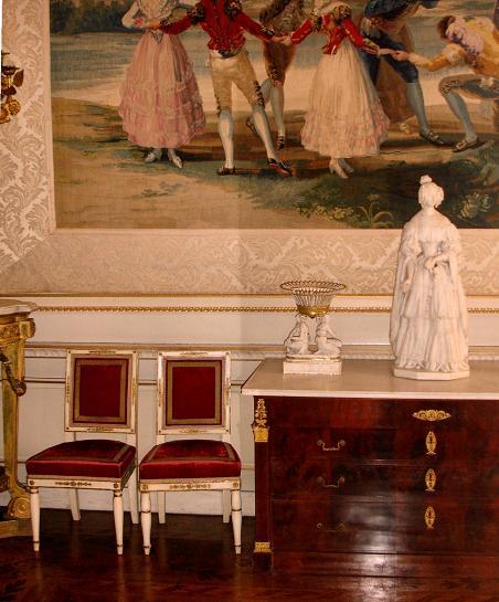 Belgian Royal Residences Salon_de_Goya-Detail