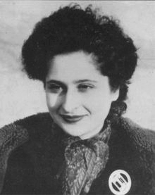 Sonia Olschanezky German member of the French Resistance and SOE