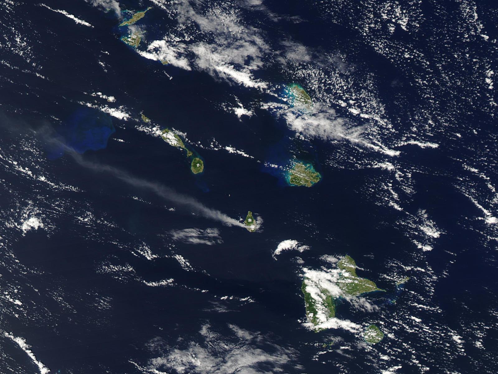 Извержение вулкана Суфриер-Хиллс