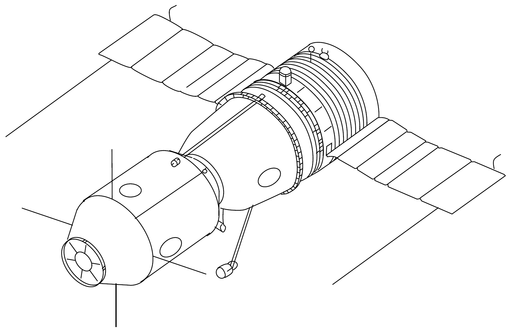 spacecraft drawing - photo #19