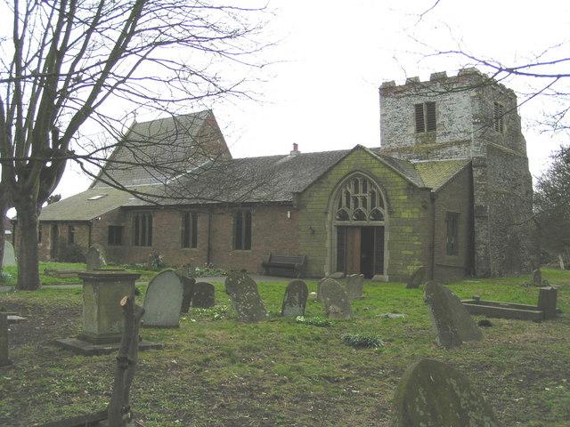 St. Mary's Parish Church, Mablethorpe - geograph.org.uk - 143686