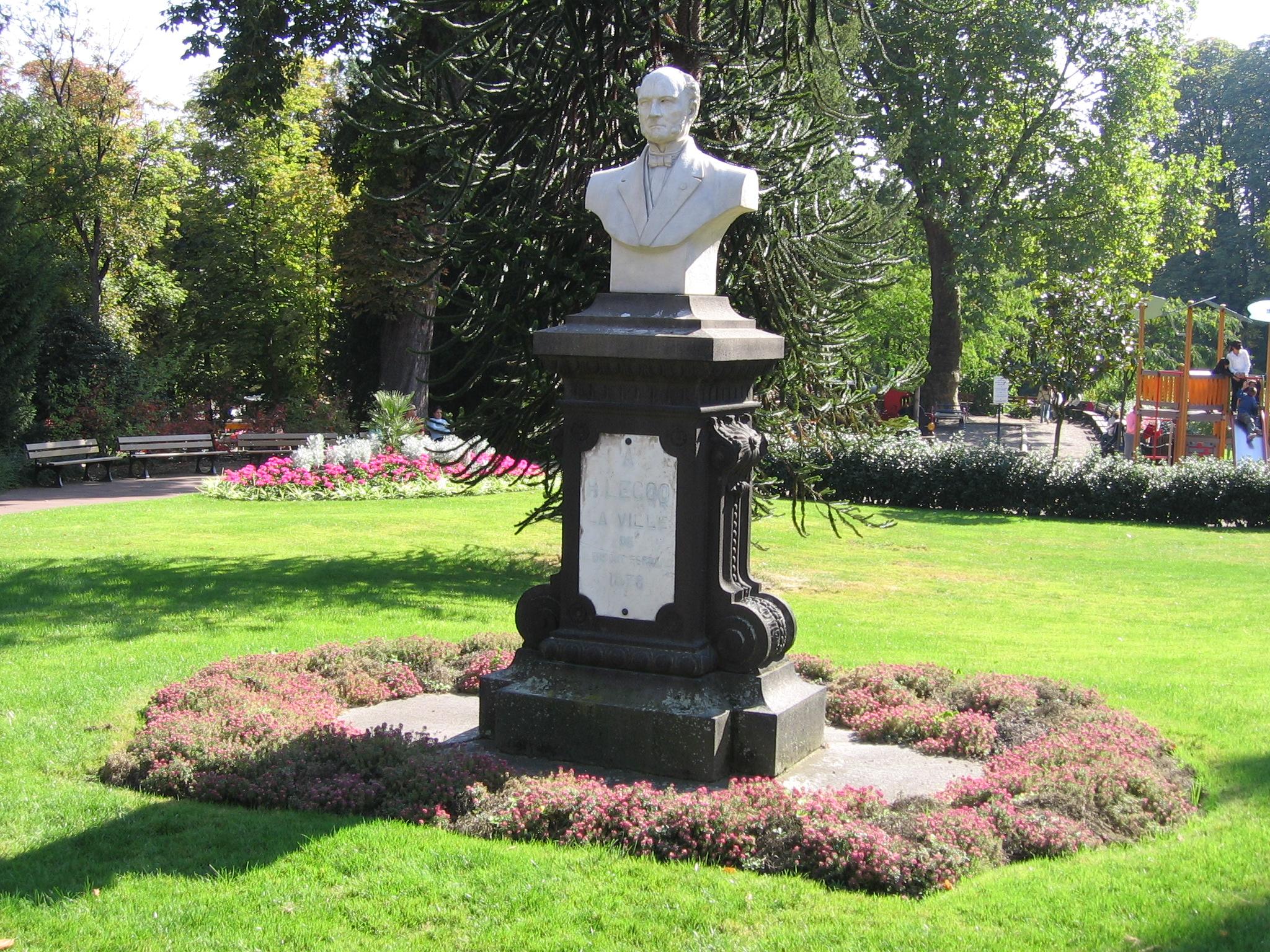 Fichier Statue H Lecoq Jardin Lecoq Jpg Wikipedia