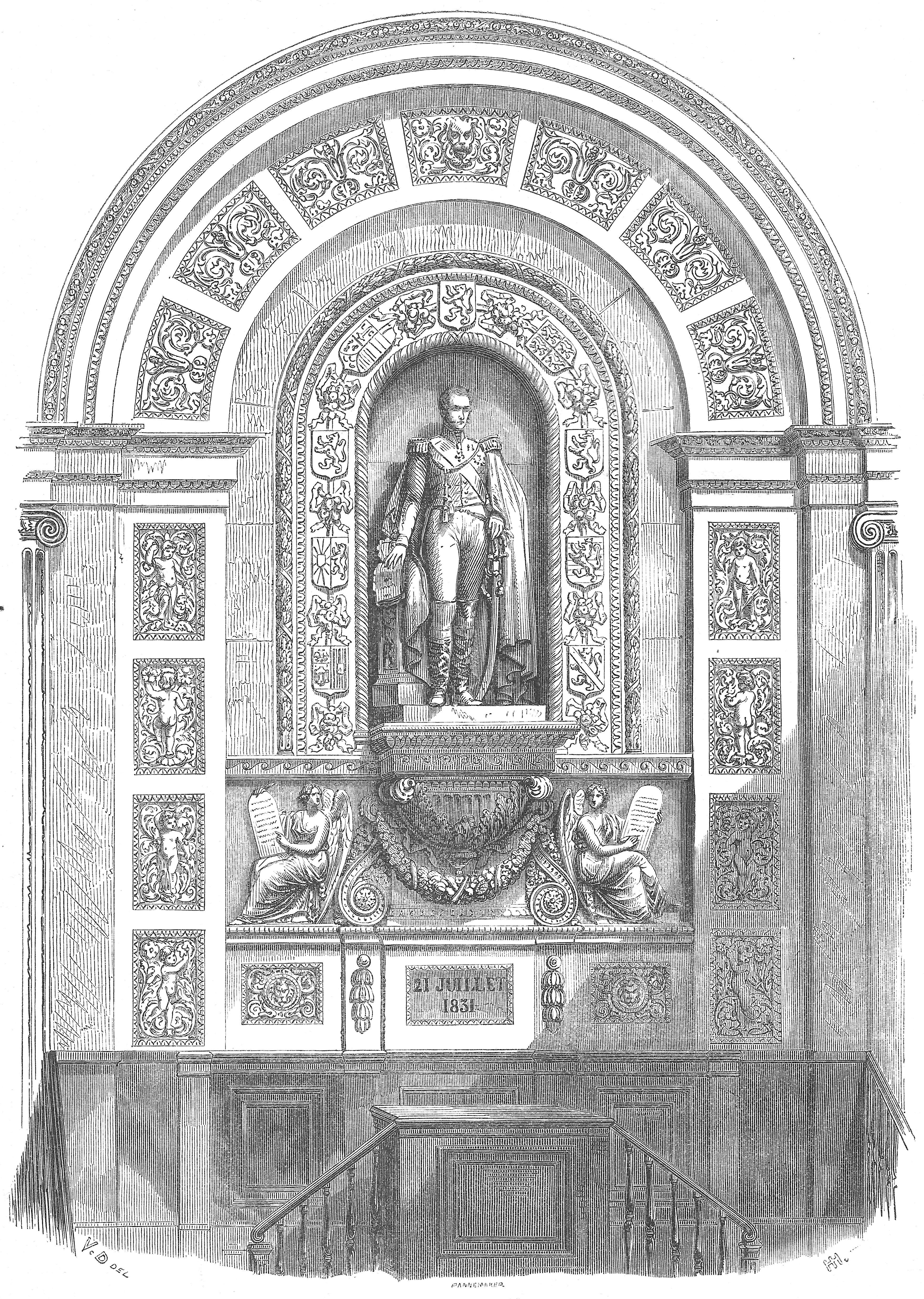 File:Statue du roi Léopold Ier de Belgique à la Chambre des ...