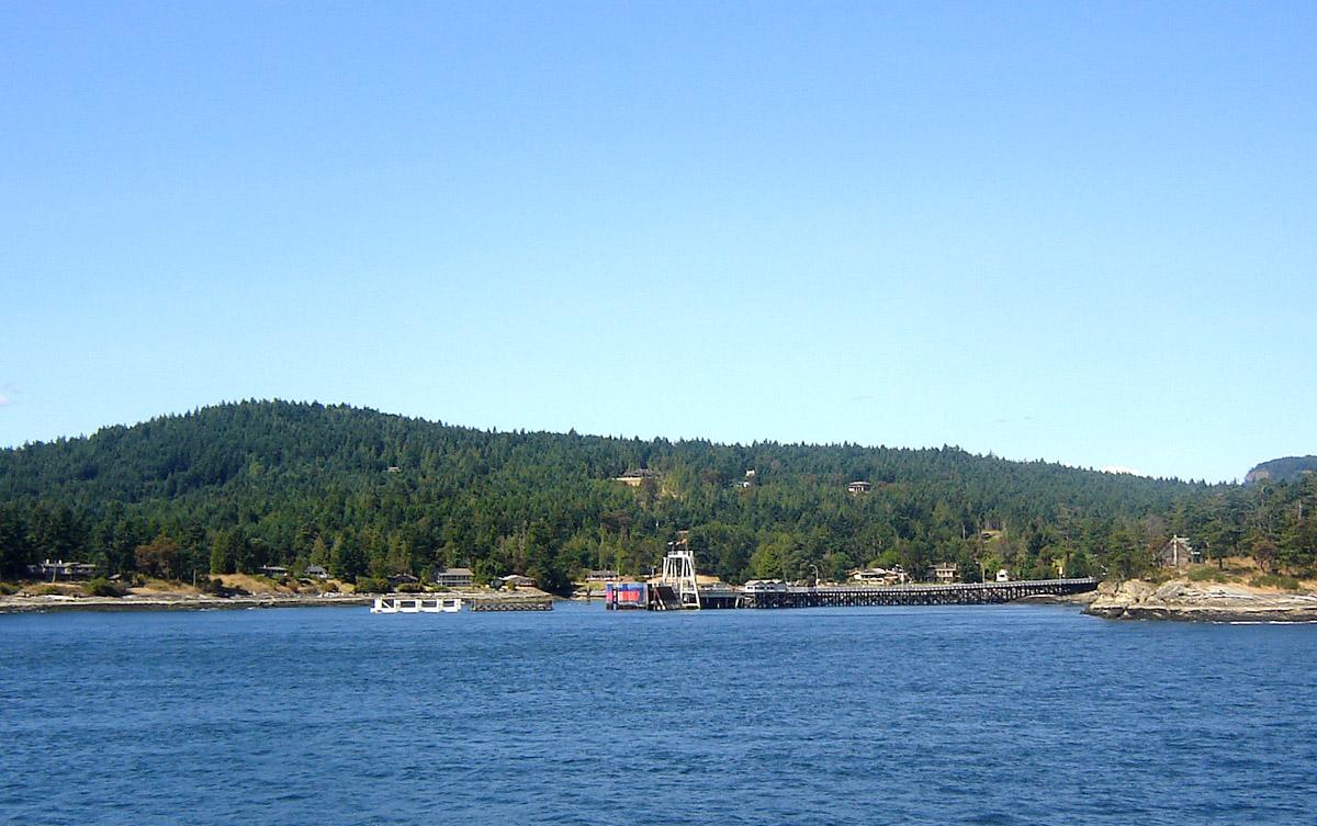 Gulf Island Ferry Route