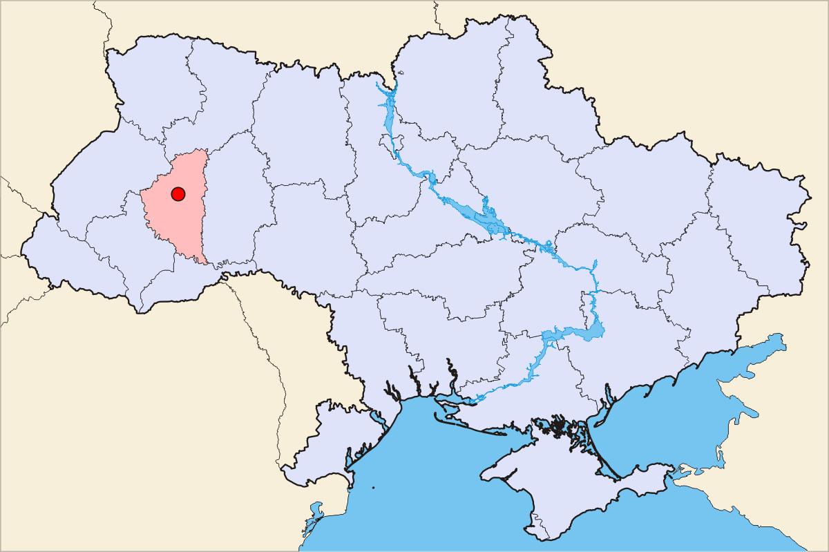 Donetsk Ukraine Map