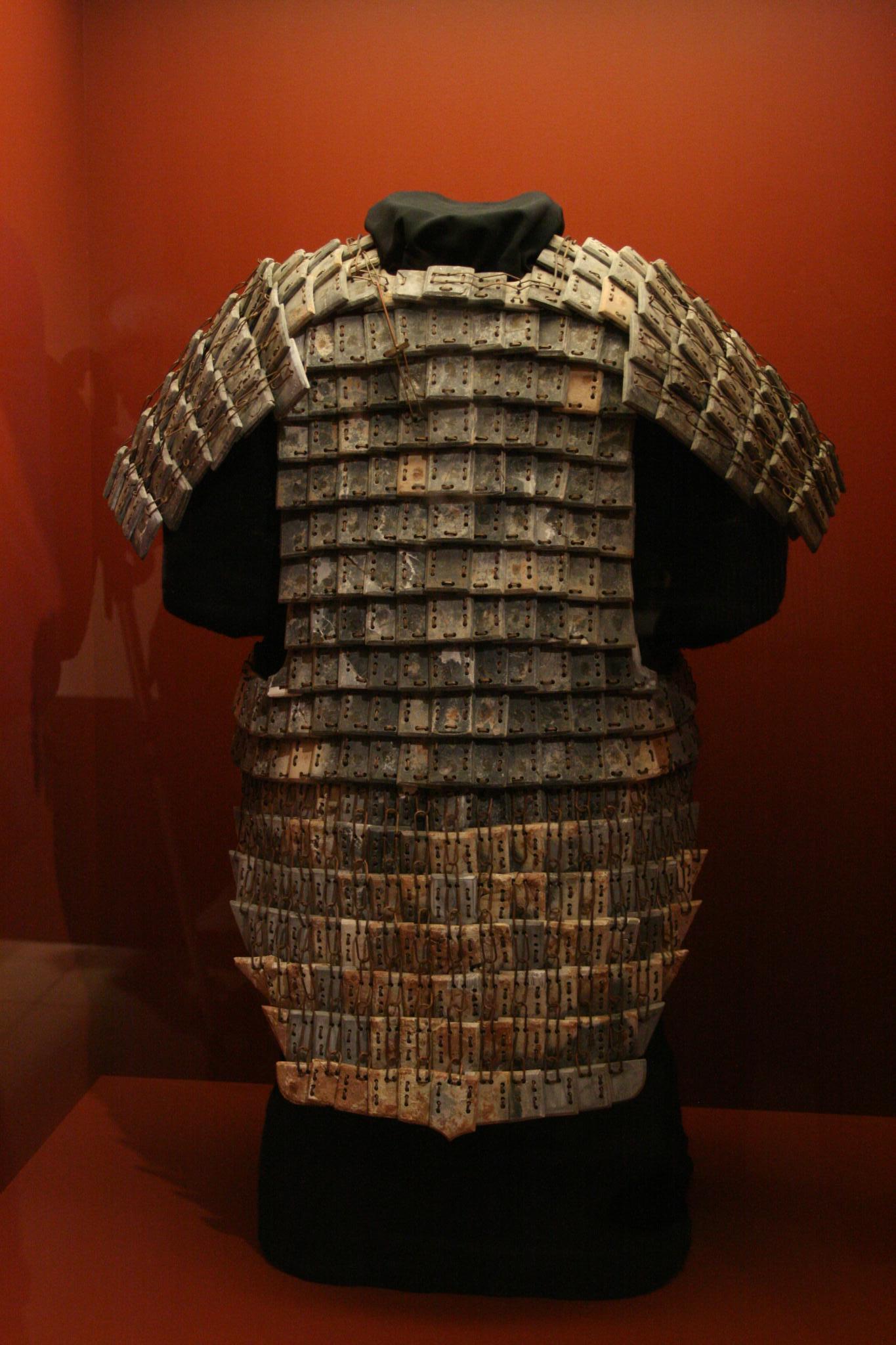 Terracotta Army of Emperor Qin. Stone Armor. Photo Attributes: ShashiBellamkonda