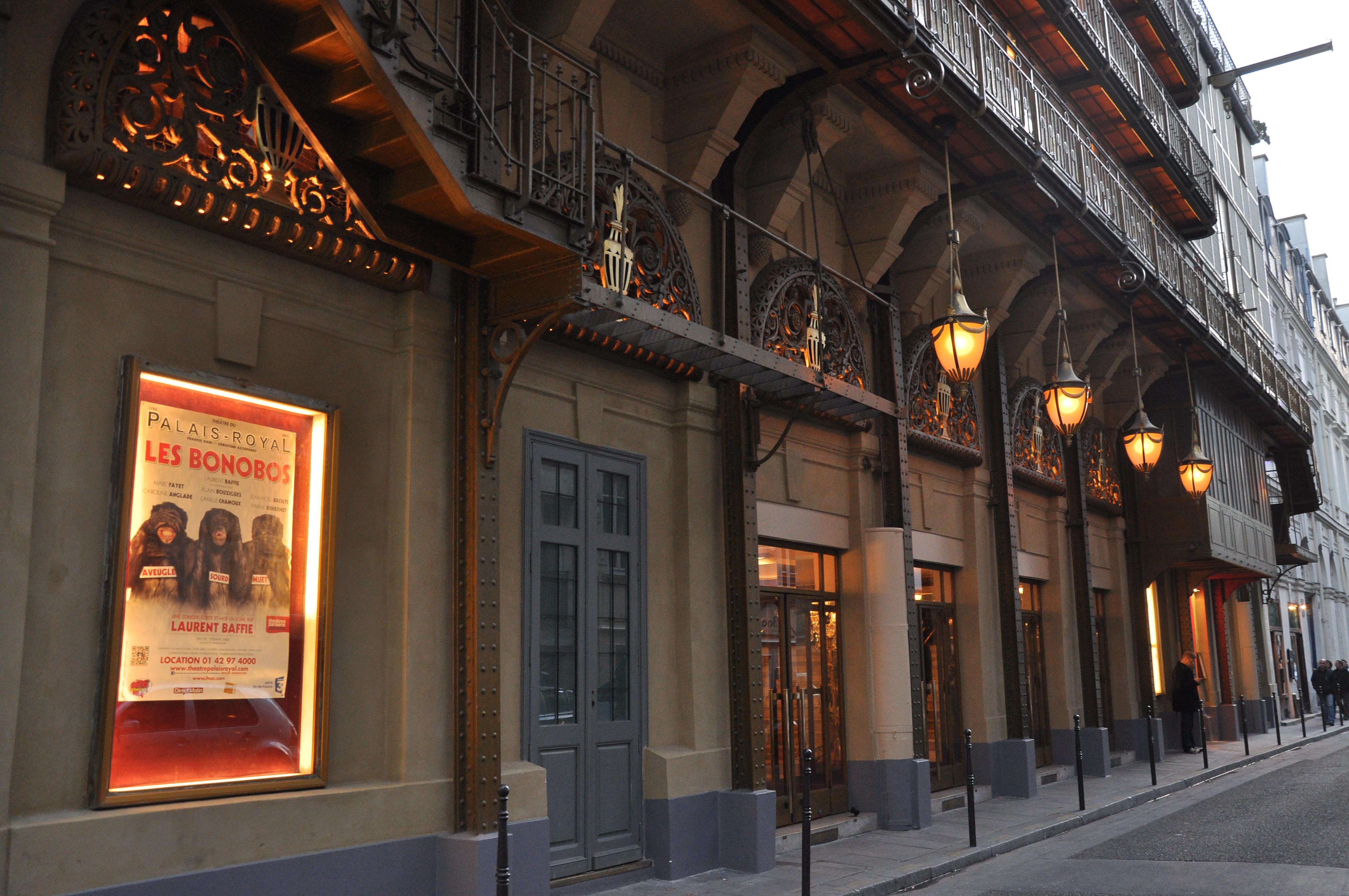 18a7be43d4256d Théâtre du Palais-Royal — Wikipédia