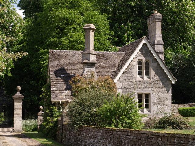 The Lodge, Misarden Park - geograph.org.uk - 434417