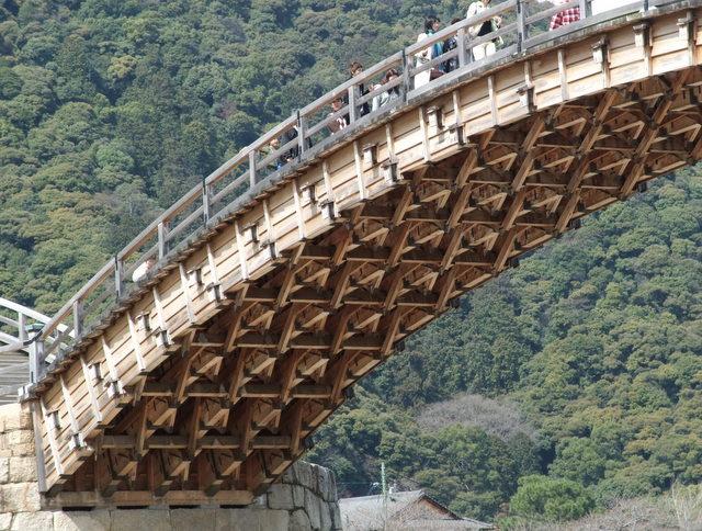 Arhitektura koja spaja ljude - Mostovi The_Under_Side_of_Kintai_Bridge