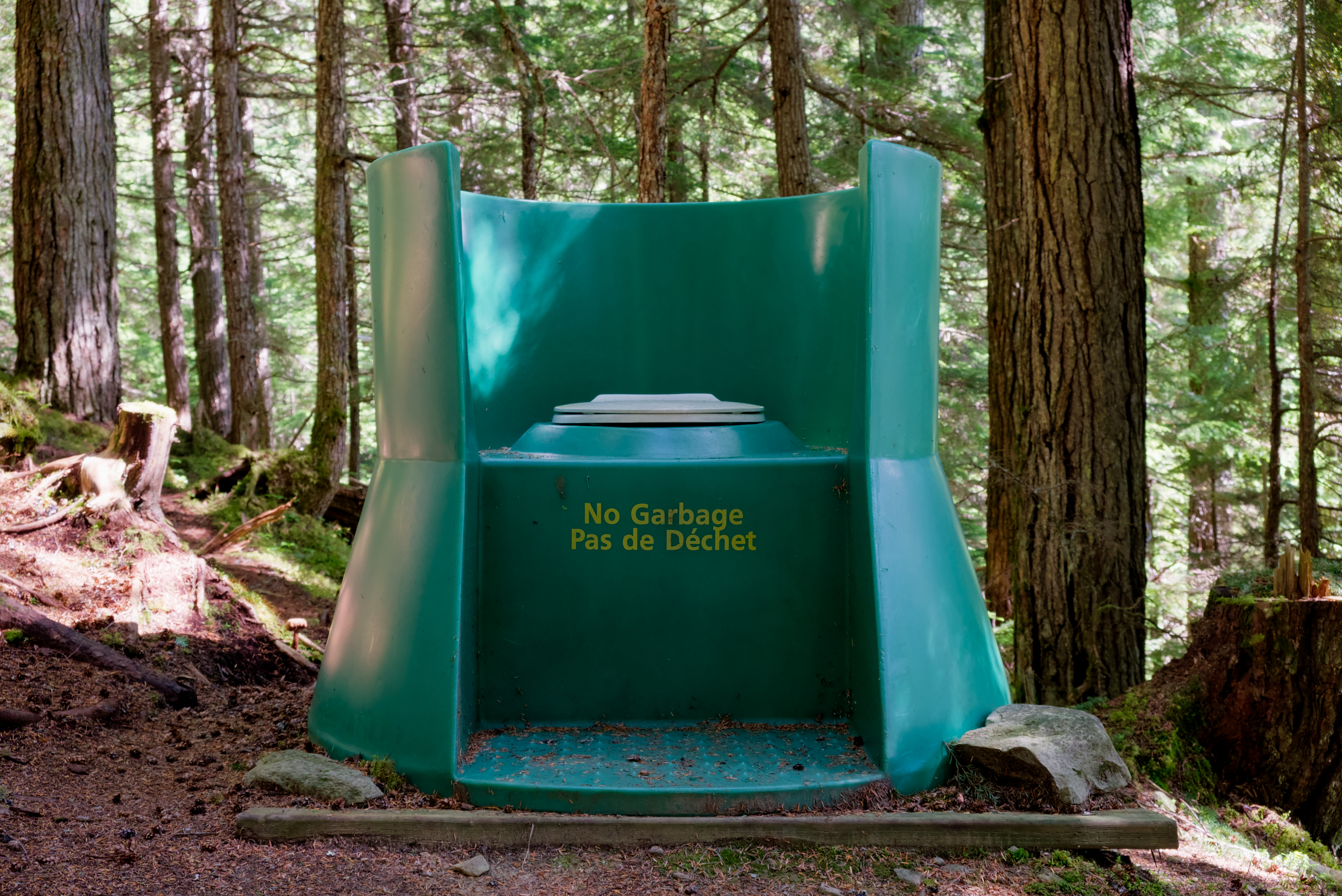 Camping Composting Toilet : File:throne over the woods style composting toilet at campsite 32 in
