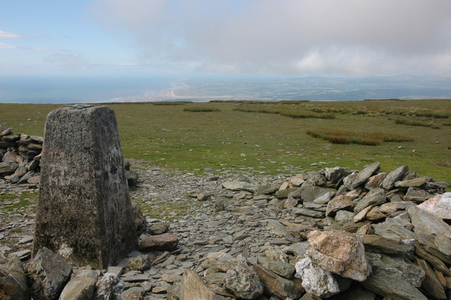 Trig point on Black Combe - geograph.org.uk - 493717