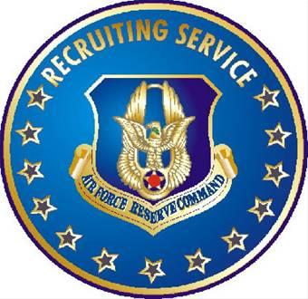 USAFR Rrecruiting Service Badge