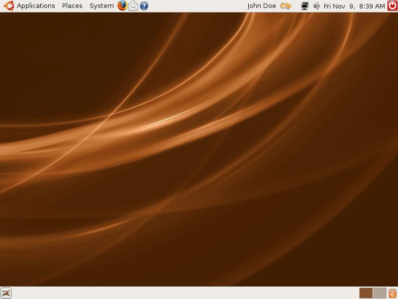 Ubuntu à l'époque