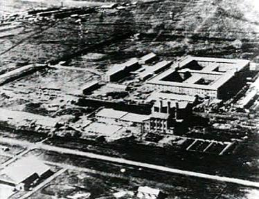 Headquarters of the Imperial Japanese Army's covert biological and chemical warfare research and development unit (Unit 731) Unit 731 - Complex.jpg