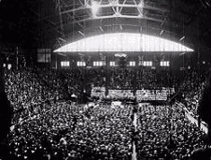 Inauguration of United Church at Mutual Street Arena, Toronto, on June 10, 1925.
