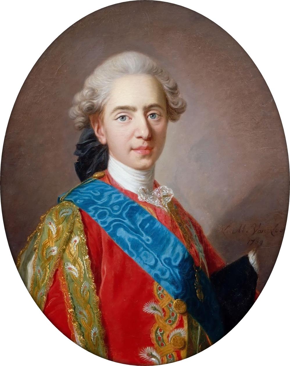 Fichier:Van Loo, Louis-Michel - The Dauphin Louis Auguste, later Louis XVI.jpg  — Wikipédia
