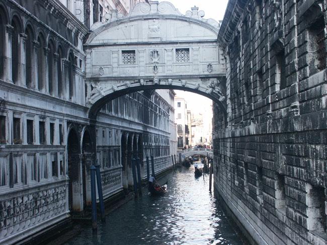 Worlds Highest Bridges. Venice(Bridge_of_Sighs)