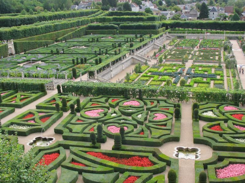 File villandry gardens jpg wikimedia commons for Jardin villandry