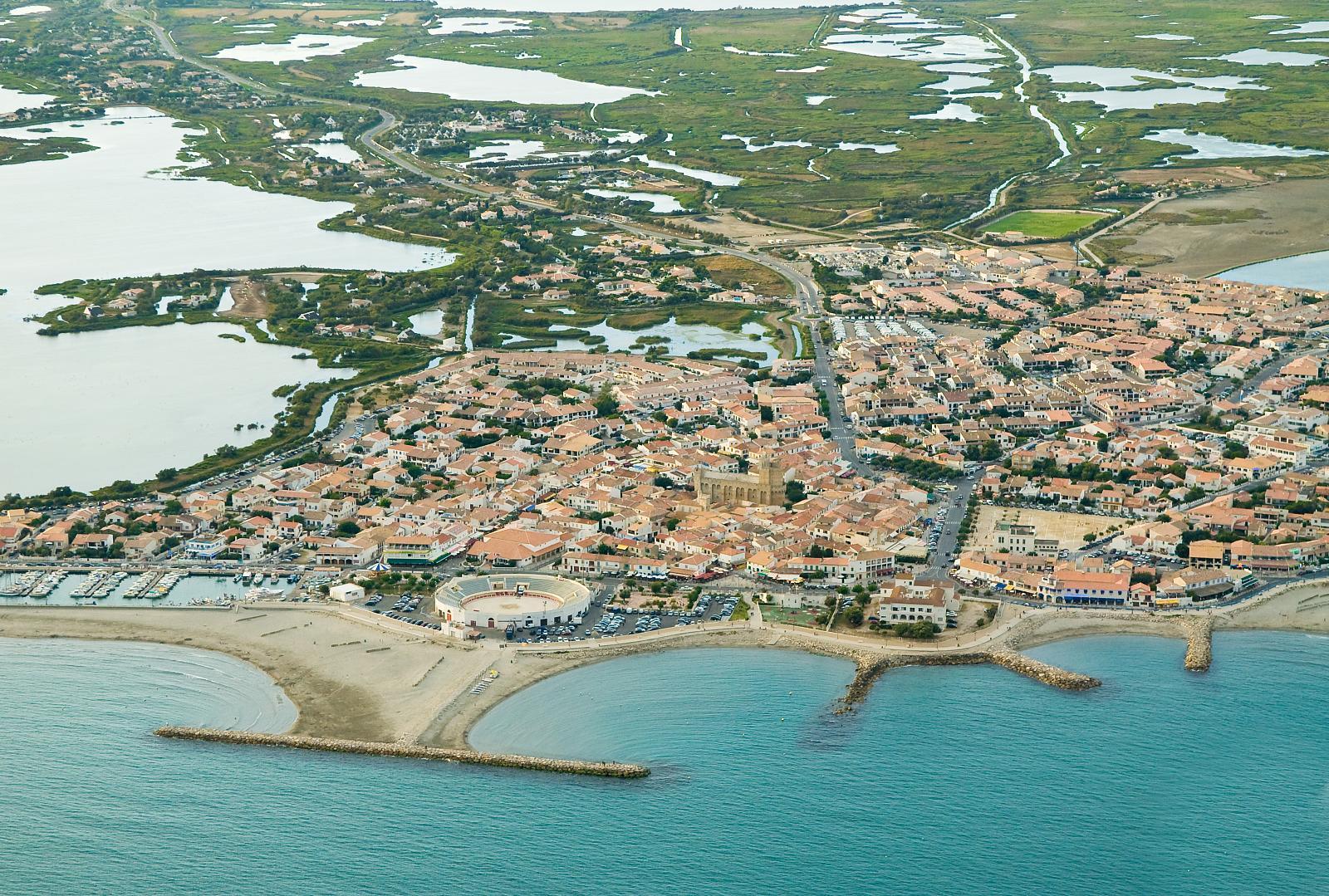 Saintes maries de la mer reisef hrer auf wikivoyage - Office du tourisme sainte marie la mer ...