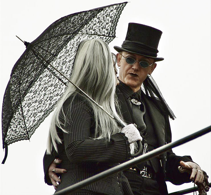 Whitby Goth Couple