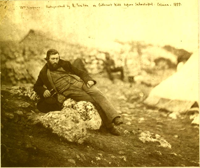 File:William Simpson in the Crimea.jpg