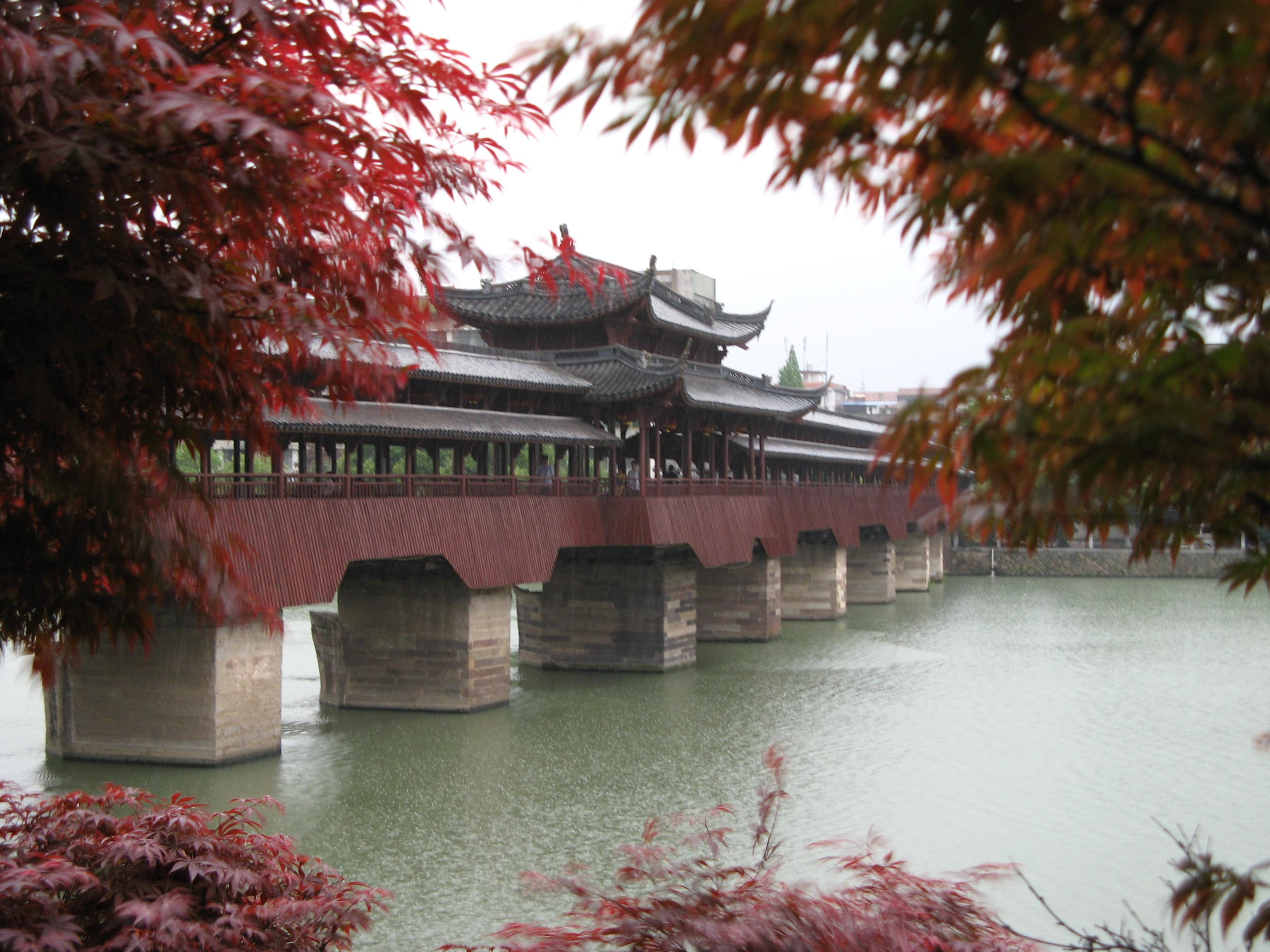 Description xijin bridge yongkang china