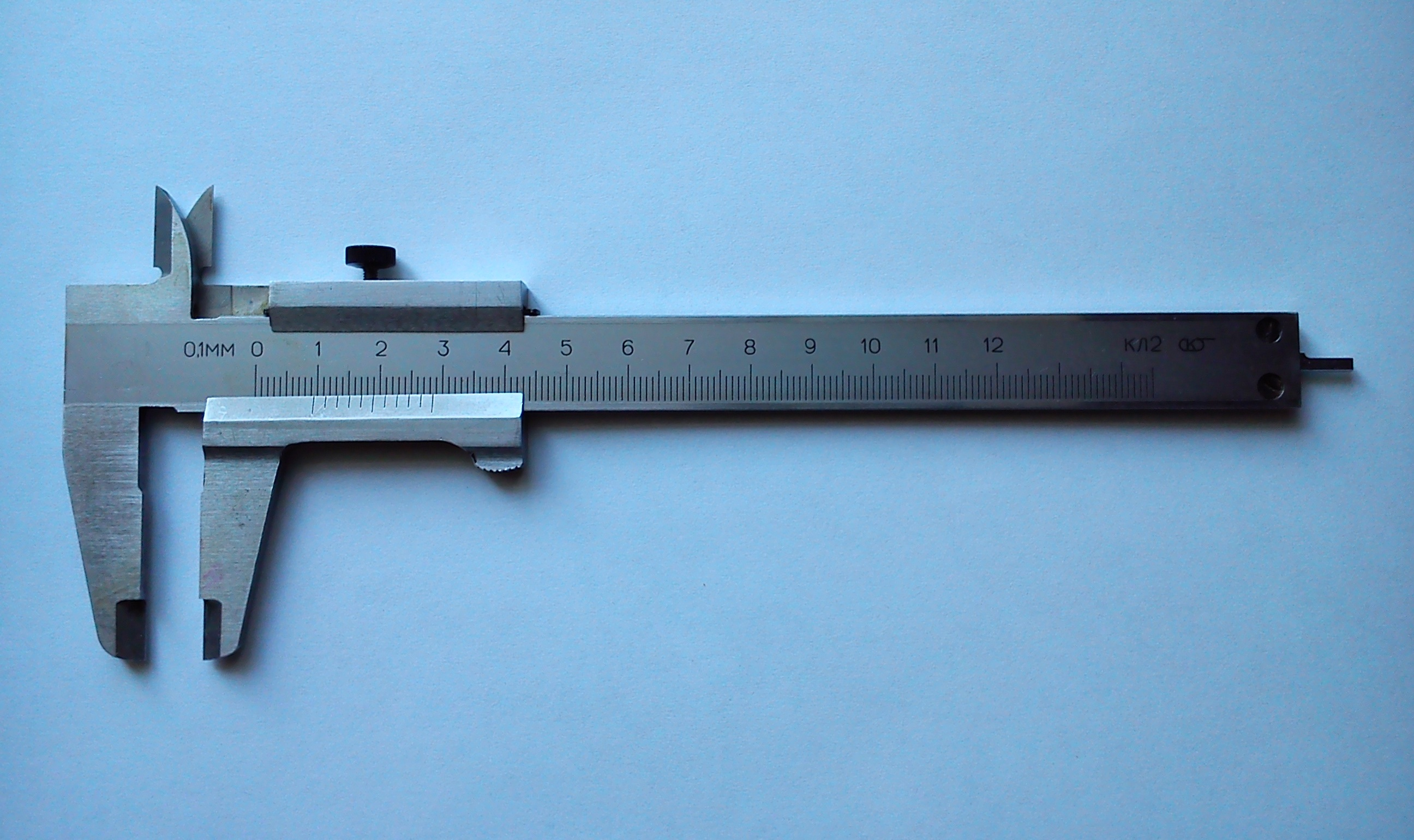 100mm Escalas Dobles mm//Pulgada Calibre Deslizante de lat/ón Herramienta de medici/ón de Regla de calibrador Vernier 80 mm y 100 mm Calibrador Vernier