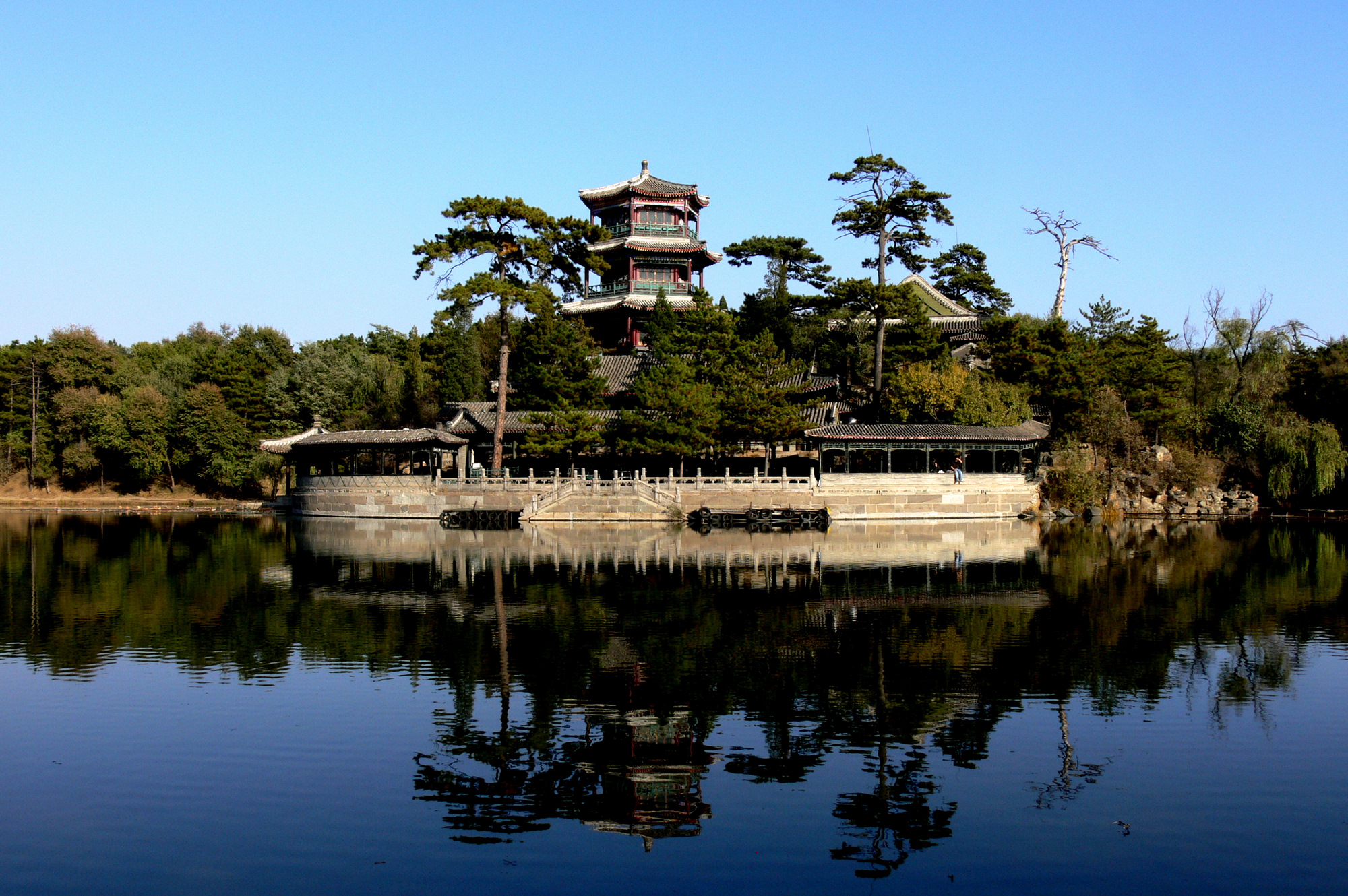 Chengde mountain resort for Jardin imperial chino
