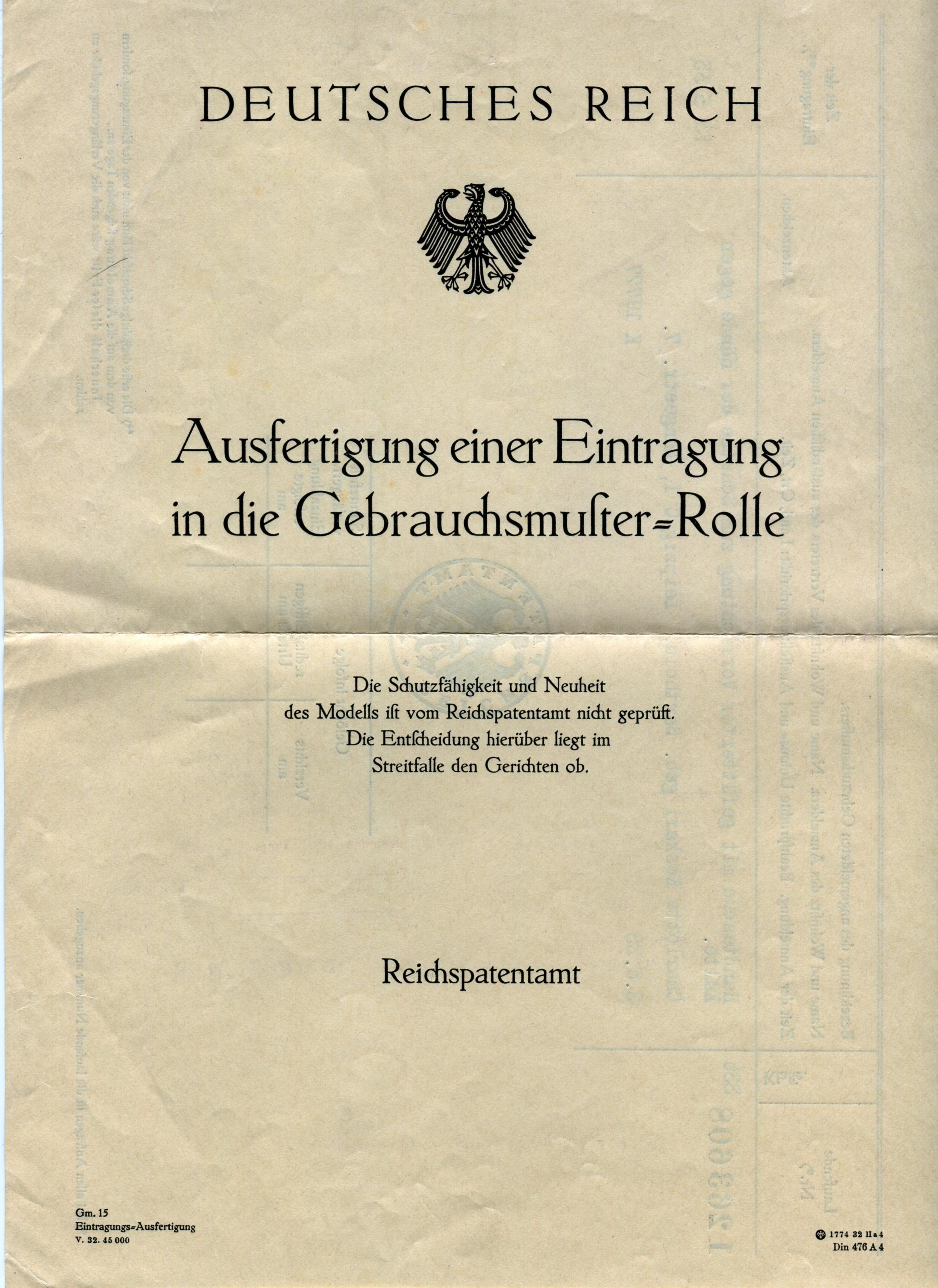 File:1933 05 13 C. Keskari Eintrag in Gebrauchsmusterrolle-1 ...