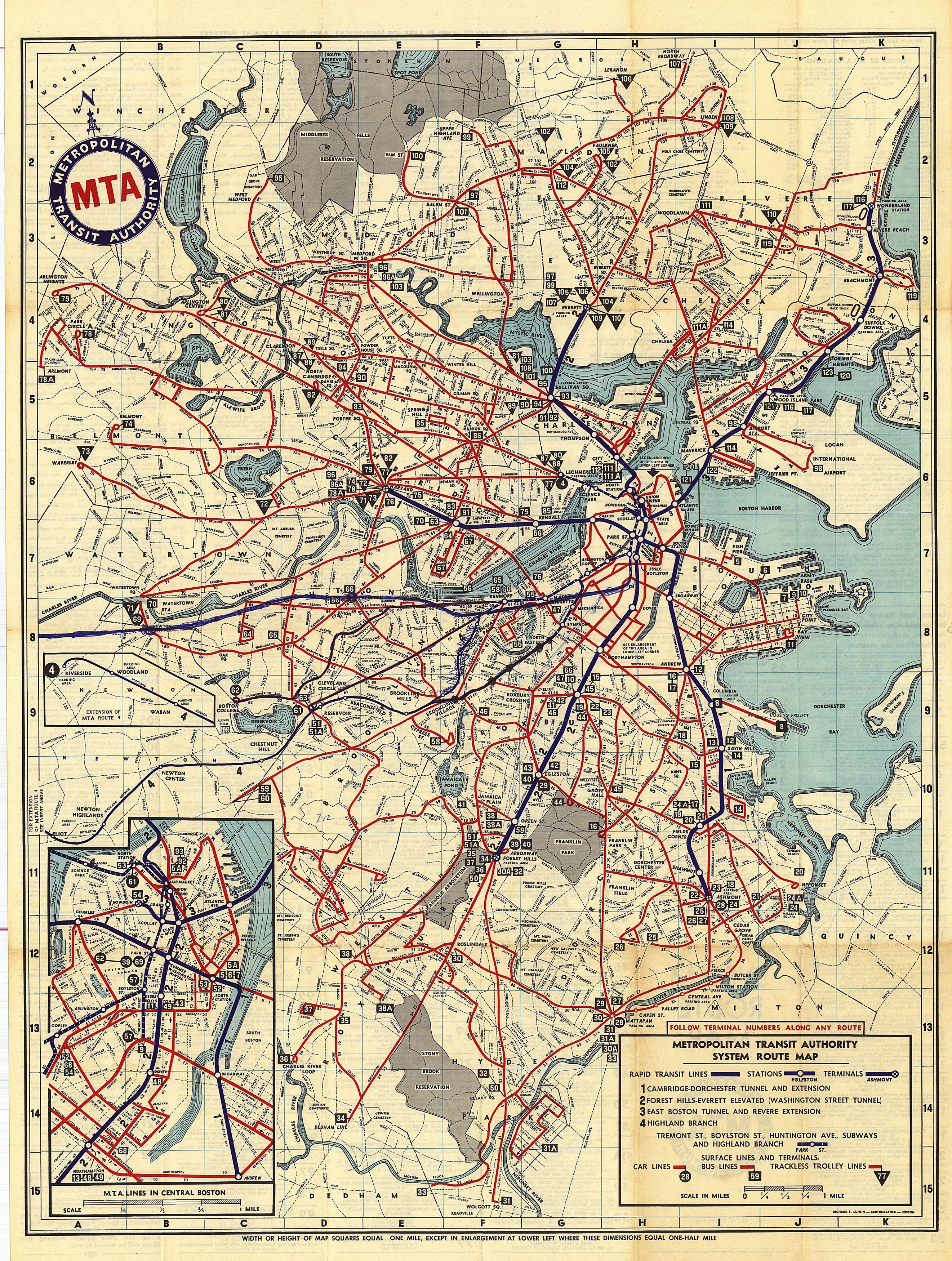 File:1961 M.T.A. Boston map.png - Wikimedia Commons on brooklyn battery tunnel map, path map, lirr map, san francisco municipal railway map, nycta map, north railroad map, bus map, wmata map, amtrak map, septa map, metro map, central park map, nyc map, queens plaza map, nj transit map, new jersey transit map, marc map, cta map, mbta map, staten island map,