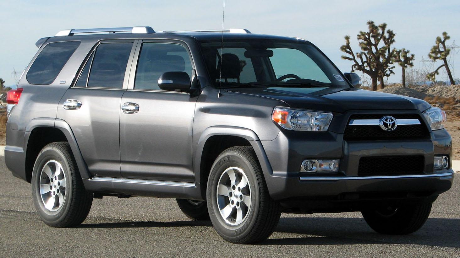 Toyota Four Runner >> File:2010 Toyota 4Runner SR5 -- NHTSA 2.jpg - Wikimedia Commons