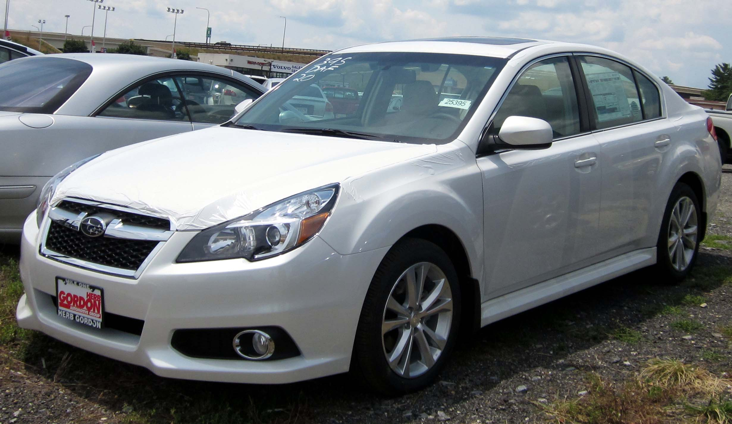 Description 2013 Subaru Legacy 2.5i Limited -- 07-11-2012.JPG