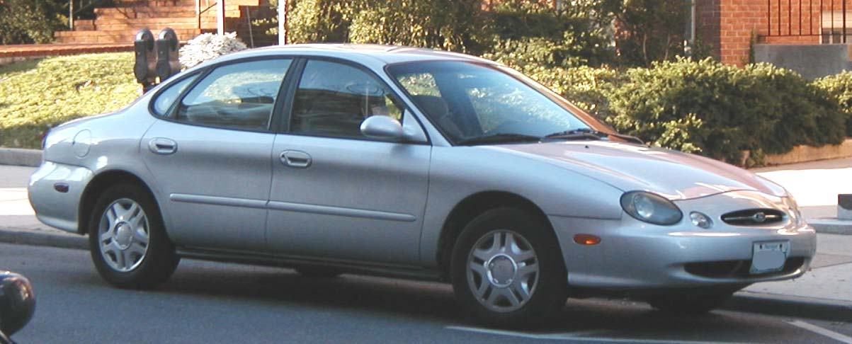 Honda Accord 1998 >> File:98-99 Ford Taurus sedan.jpg - Wikimedia Commons